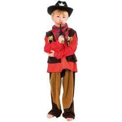 Déguisements, Déguisement Cowboy garçon 4-6 ans, C4114116, 12,50€