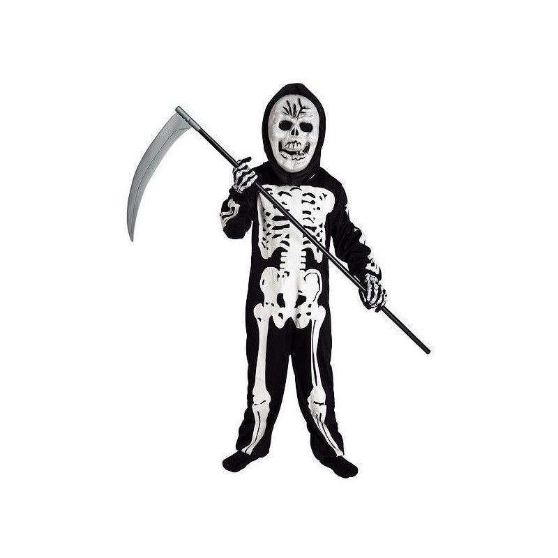 Déguisements, Déguisement squelette effrayant garçon 12 ans, 1412-, 24,50€