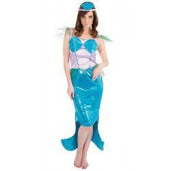 Déguisements, Déguisement sirène femme taille S, C4115S, 29,90€