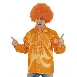 Déguisements, Déguisement chemise disco orange homme taille L, C4324L, 17,50€