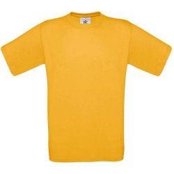 T-shirt MC Exact 150 B et C gold adulte taille L Accessoires de fête CG150-GOLD