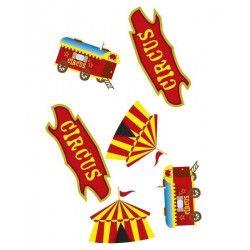Confettis de table cirque Déco festive CHAKS81004