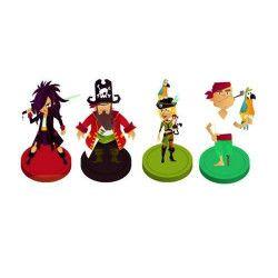 Déco festive, Marque places pirate, CHAKS81007, 2,90€
