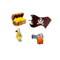 Confettis de table pirate Déco festive CHAKS81008