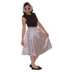 Costume luxe femme années 50 Déguisements CLOWN30030