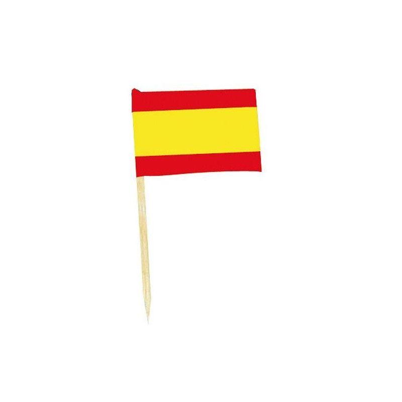 Mini drapeaux Espagne x 50 Déco festive DR84000-ESPA