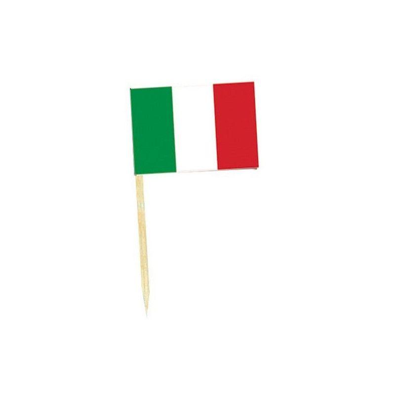 Déco festive, Mini drapeaux Italie x 50, DR84000-ITALIE, 1,00€
