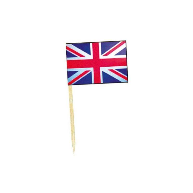 Mini drapeaux Royaume Uni x 50 Déco festive DR84000-ROYA