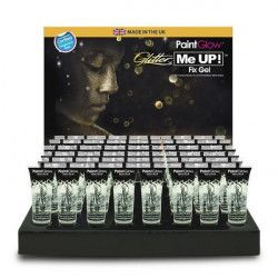 Accessoires de fête, Tube de gel de fixation pour maquillage paillettes 10 ml, E7121P, 2,60€