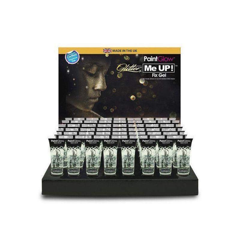 Tube de gel de fixation pour maquillage paillettes 10 ml Accessoires de fête E7121P