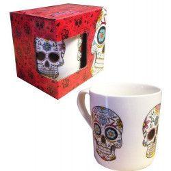 Mug décor tête de mort petit modèle Divers FO2792