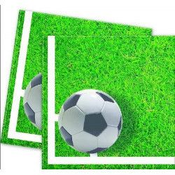 Déco festive, Serviettes papier 33 x 33 cm Football Party x 20, GFOG86869, 3,40 €