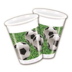 Gobelets anniversaire jetables football Party x 8 Déco festive GFOG86870