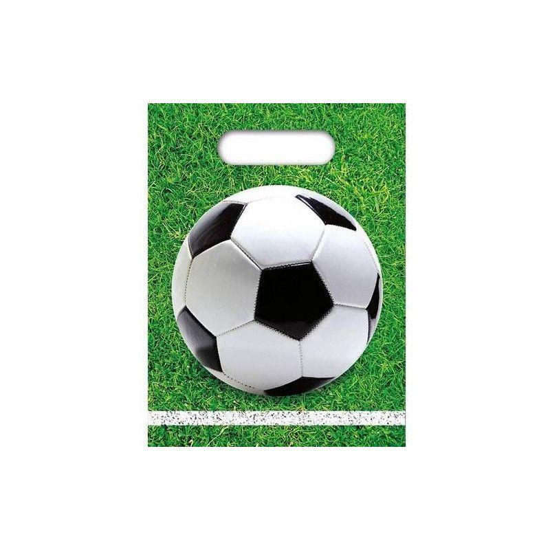 Sacs anniversaire Football Party x 6 Déco festive GFOG86872