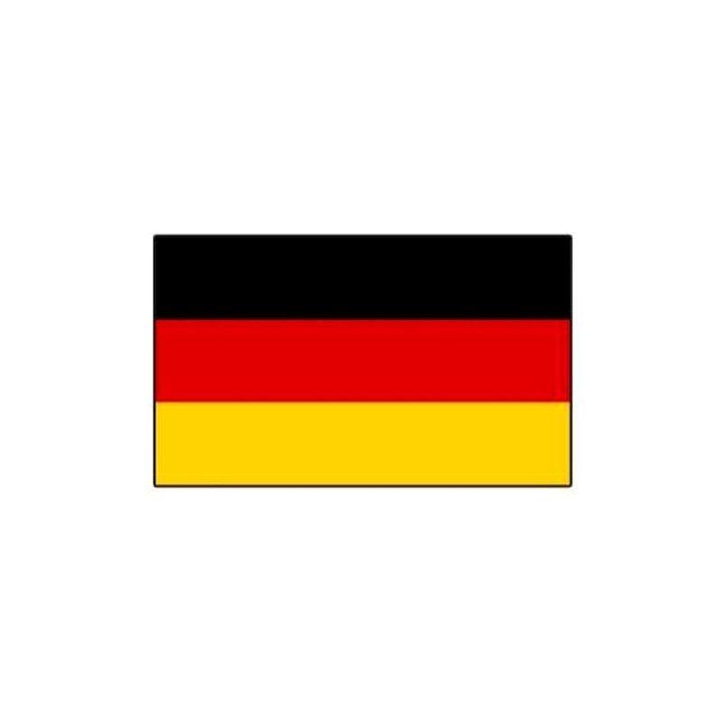 Lot 10 drapeaux allemands grand modèle Déco festive 14543