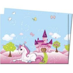 Déco festive, Nappe anniversaire Licorne, GLIC85674, 4,90€