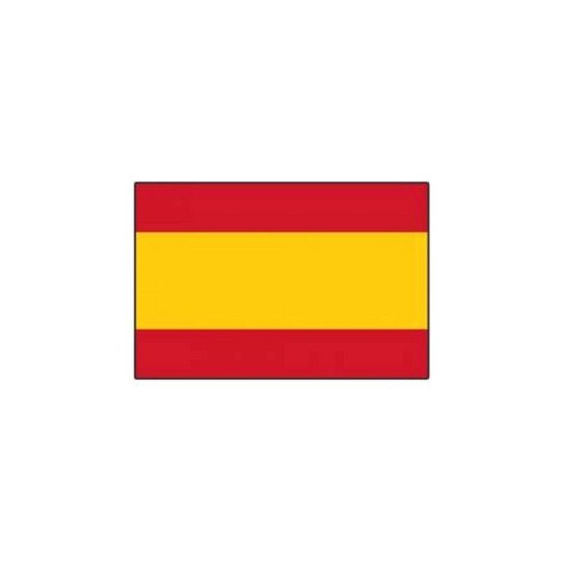 Lot 10 drapeaux espagnols grand modèle Déco festive 14544
