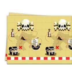Nappe plastique thème Powerful Pirate™ Déco festive GPIR88161