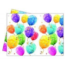 Déco festive, Nappe anniversaire 120x180cm thème Surprise, GSUR88151, 4,90€