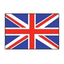 Lot 10 drapeaux Royaume Uni grand modèle Déco festive 14546