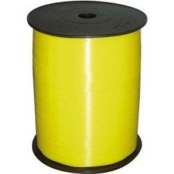 Déco festive, Bolduc jaune 7mm x 500m, GU69100-JAUNE, 3,90€