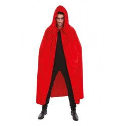 Cape en velours rouge 182 cm Déguisements H4032