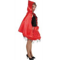 Accessoires de fête, Cape du petit chaperon rouge, H4039, 9,90€