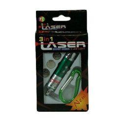 Pointeur laser avec mousqueton /60/ Jouets et articles kermesse 1475