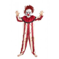 Déguisements, Déguisement clown effrayant garçon 10 ans, H4185140, 32,50€