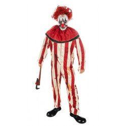 Déguisement clown effrayant homme taille L Déguisements H4185L