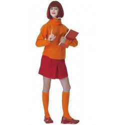 Déguisement Scooby-doo Vera™ femme taille M-L Déguisements I-16500