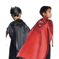 Déguisements, Cape réversible Batman et Superman™ garçon taille unique, I-31675, 22,50€