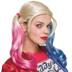 Perruque Harley Quinn Suicide Squad™ femme Accessoires de fête I-33608