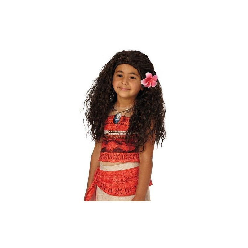 Perruque princesse Vaiana™ Accessoires de fête I-33699