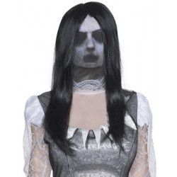 Cagoule de fantôme avec perruque Accessoires de fête I-39328