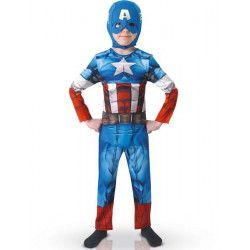 Déguisements, Déguisement classique Captain America™ garçon 3-4 ans, I-610261S, 22,90€