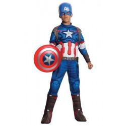 Déguisement luxe Captain America Avengers 2™ enfant 4-6 ans Déguisements I-610425M