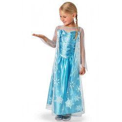 Déguisement classique Elsa Frozen ™ fille 7-9 ans Déguisements I-620975L