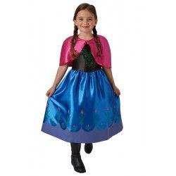Déguisement classique Anna Frozen™ fille 5-6 ans Déguisements I-620977M