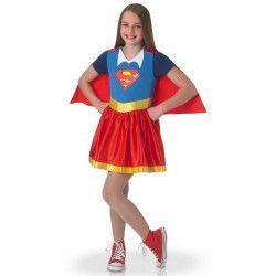 Déguisement classique Supergirl DC Superhero Girls™ fille 5-6 ans Déguisements I-630021M
