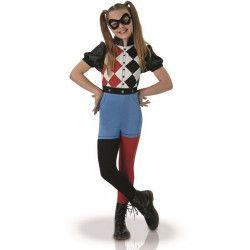 Déguisement classique Harley Quinn Superhero Girls™ 5-6 ans Déguisements I-630025M