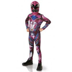 Déguisement classique Power Rangers Movie™ rose enfant 7-9 ans Déguisements I-630713L