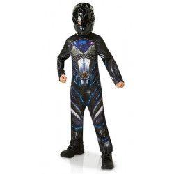 Déguisement classique Power Rangers Movie™ noir garçon 7-9 ans Déguisements I-630715L