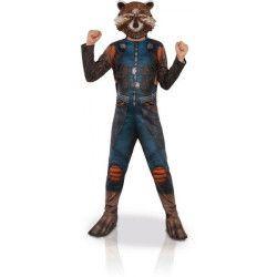 Déguisement classique Rocket Raccoon™ enfant 7-9 ans Déguisements I-630777L
