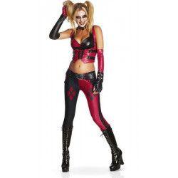 Déguisements, Déguisement Harley Quinn Batman Arkham City™ femme taille S, I-880586S, 69,90€