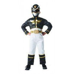 Coffret déguisement Power Ranger's™ noir enfant 3-4 ans Déguisements I-886670S