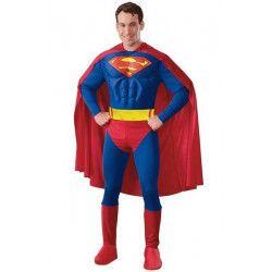Déguisement Superman™ torse 3D homme taille L Déguisements I-888016L
