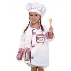 Kit jeu de rôle chef cuisinier enfant 3-6 ans Déguisements 14838