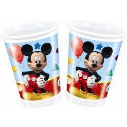 Gobelets anniversaire Mickey Mouse x 8 Déco festive LMIC81509