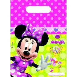 Sacs anniversaire Minnie Bow-tique x 6 Déco festive LMIN81646